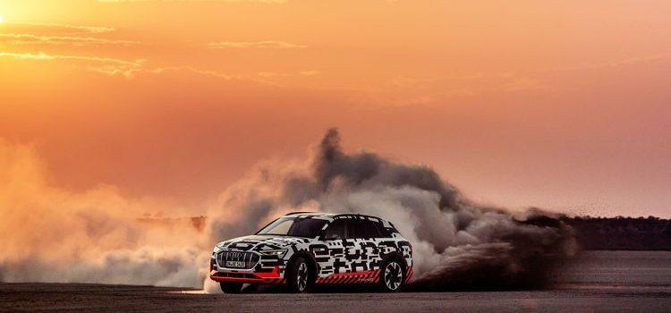 Audi e-tron-Quattro-Prototyp zeigt elektrisierende Dynamik