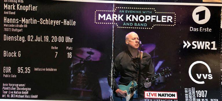 Mark Knopfler im Konzert