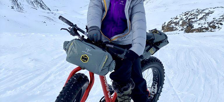 Mit dem Zweirad durch Eis und Schnee