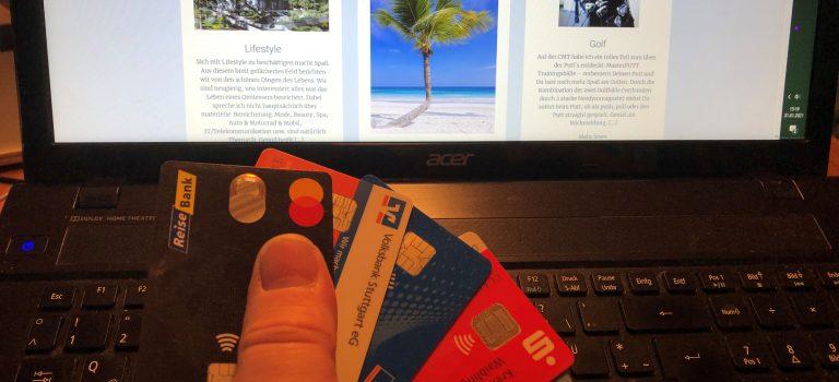 Kreditkartenzahlung wird komplizierter