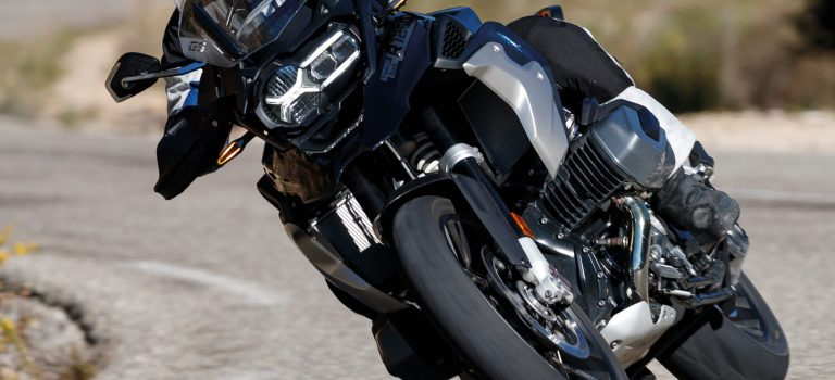 Gut und sicher Motorrad fahren